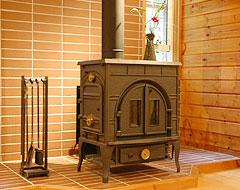 室内_暖炉